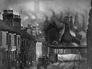 The Potteries, 1926 by Edgar & Winifred Ward