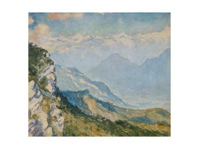 View from Campo Dei Fiori, Varese, Italy, C.1925