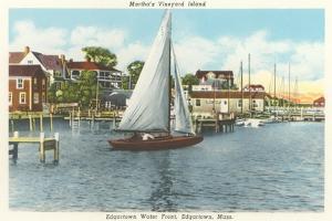 Edgartown Waterfront, Martha's Vineyard
