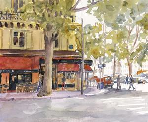 Early Morning Paris by Edie Fagan