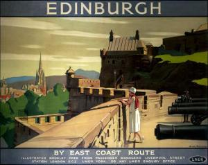 Edinburgh by the East Coast Route