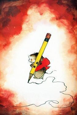 The Pencil Pusher - Jack & Jill by Edith Osborn Corbett