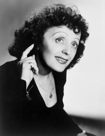 Edith Piaf, French Ballad Singer in Publicity Still from 1947