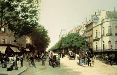 Le Boulevard Des Italiens