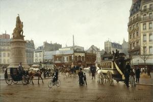 La place Clichy en 1896 by Edmond Grandjean