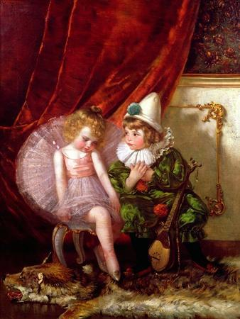 Pierrot and Pierrette