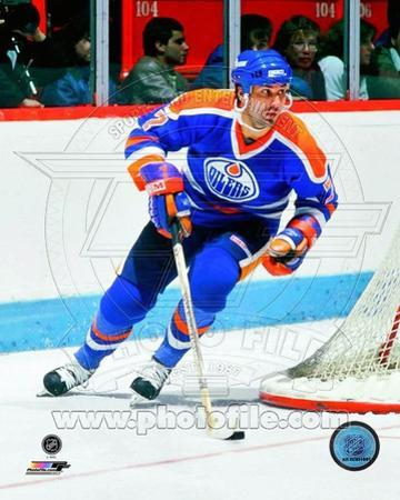 Edmonton Oilers - Paul Coffey Photo