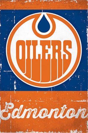 Edmonton Oilers Retro Logo