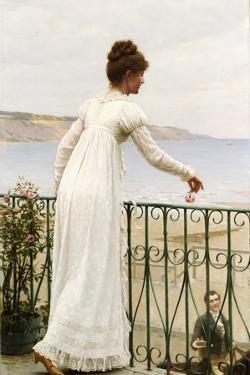 A Favour, 1898 by Edmund Blair Leighton