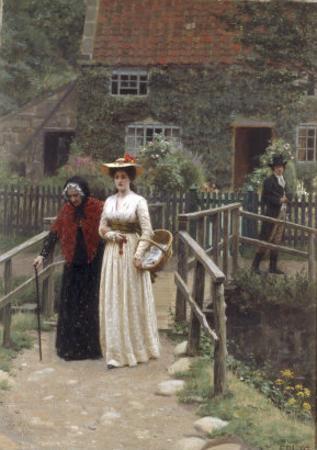 A Wistful Glance, 1897