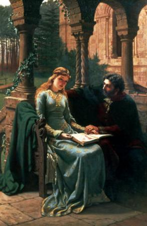 Abelard and His Pupil Heloise, 1882 by Edmund Blair Leighton