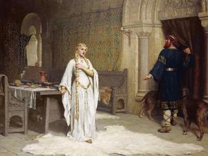 Lady Godiva, 1892 by Edmund Blair Leighton