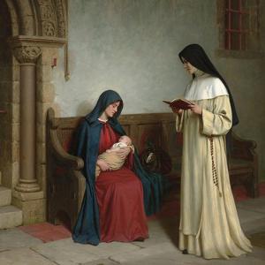 Maternity, 1917 by Edmund Blair Leighton