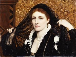 Olivia, 1887 by Edmund Blair Leighton