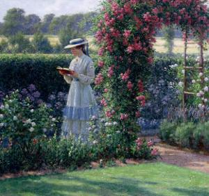 Sweet Solitude, 1919 by Edmund Blair Leighton