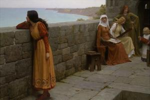 The Hostage by Edmund Blair Leighton