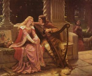 Tristan and Isolde by Edmund Blair Leighton