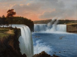 Niagara Falls, 1850 by Edmund C. Coates