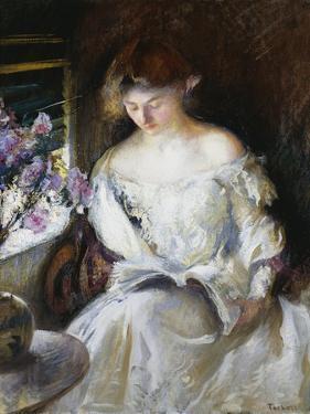 Girl Reading, 1902 by Edmund Charles Tarbell