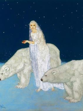 Dulac: The Ice Maiden, 1915 by Edmund Dulac