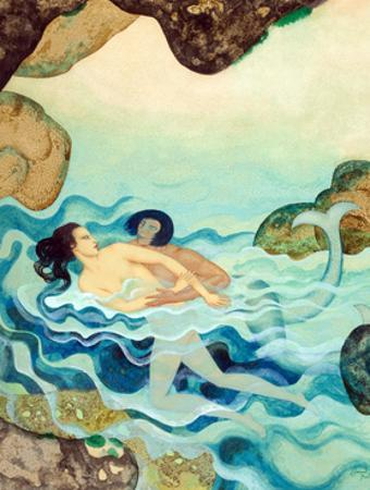 Myths the Ancients Believed - Glaucus and Scylla by Edmund Dulac