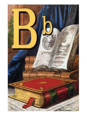 B For the Book That Was Given To Me by Edmund Evans
