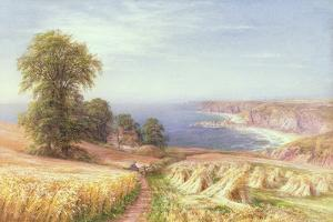 Harvest Time by the Sea, 1881 by Edmund George Warren