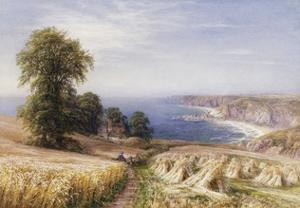Harvesting on the Coast by Edmund George Warren
