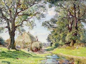 Surrey Landscape by Edmund George Warren
