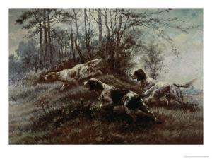 Three Setters Afield by Edmund Henry Osthaus