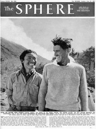 Edmund Hillary and Tensing