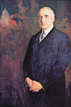 Warren G. Harding (1865-1923) by Edmund Hodgson Smart