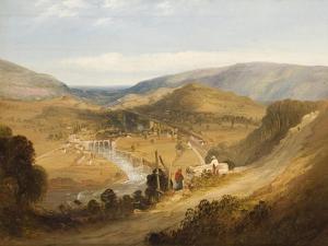 A Welsh Valley by Edmund John Niemann