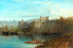 Chepstow Castle On The Wye, 1872 by Edmund John Niemann