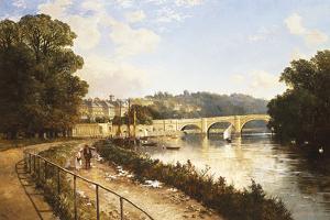 Richmond on Thames by Edmund John Niemann