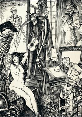 The Cartoonist - Stage Vi, C1920 by Edmund Joseph Sullivan