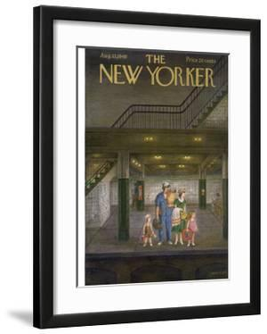 The New Yorker Cover - August 13, 1949 by Edna Eicke
