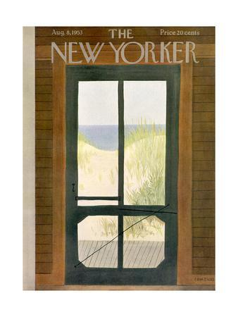 The New Yorker Cover - August 8, 1953