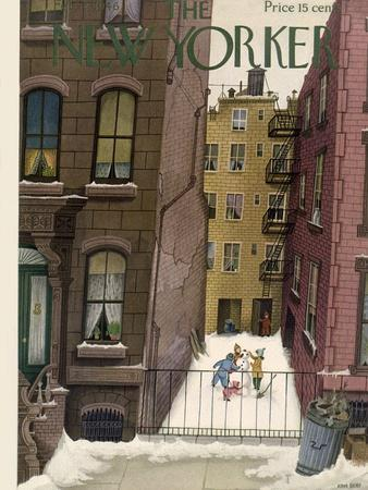 The New Yorker Cover - February 2, 1946