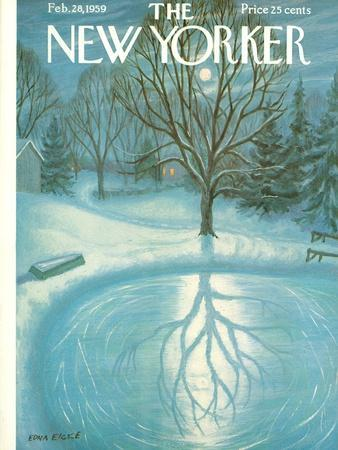 The New Yorker Cover - February 28, 1959