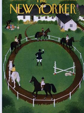 The New Yorker Cover - June 18, 1949 by Edna Eicke