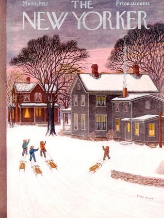 The New Yorker Cover - March 1, 1952