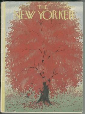 The New Yorker Cover - October 18, 1952 by Edna Eicke