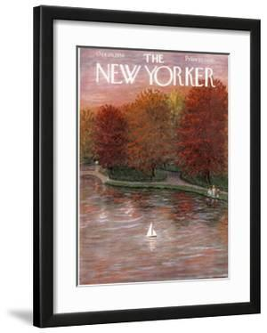 The New Yorker Cover - October 20, 1956 by Edna Eicke