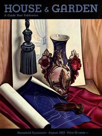 House & Garden Cover - August 1933