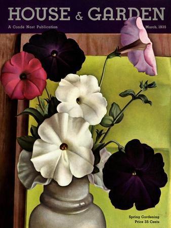 House & Garden Cover - March 1935