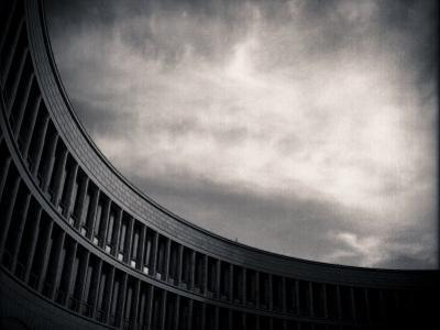 Architectural Study of Lines and Sky