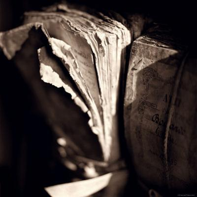 Detail of Antique Pages by Edoardo Pasero