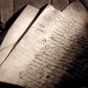 Detail of Manuscript by Edoardo Pasero
