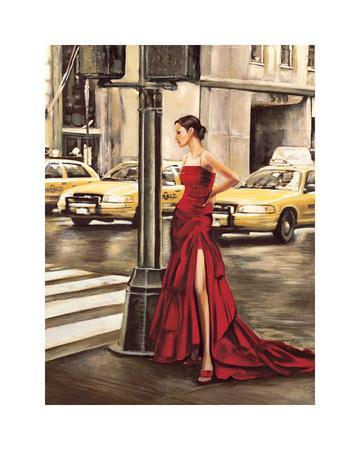 Woman in New York